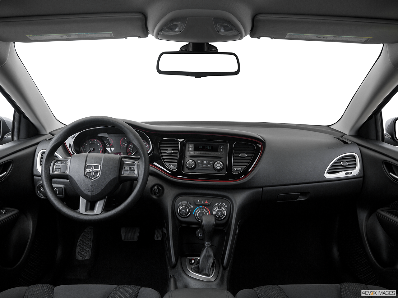 Interior View Of 2016 Dodge Dart in Yuba City