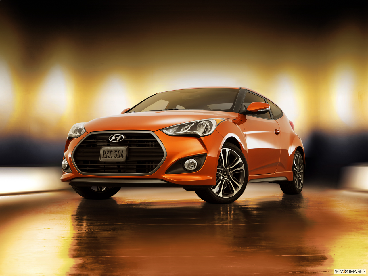 Exterior View Of 2016 Hyundai Veloster in Tracy