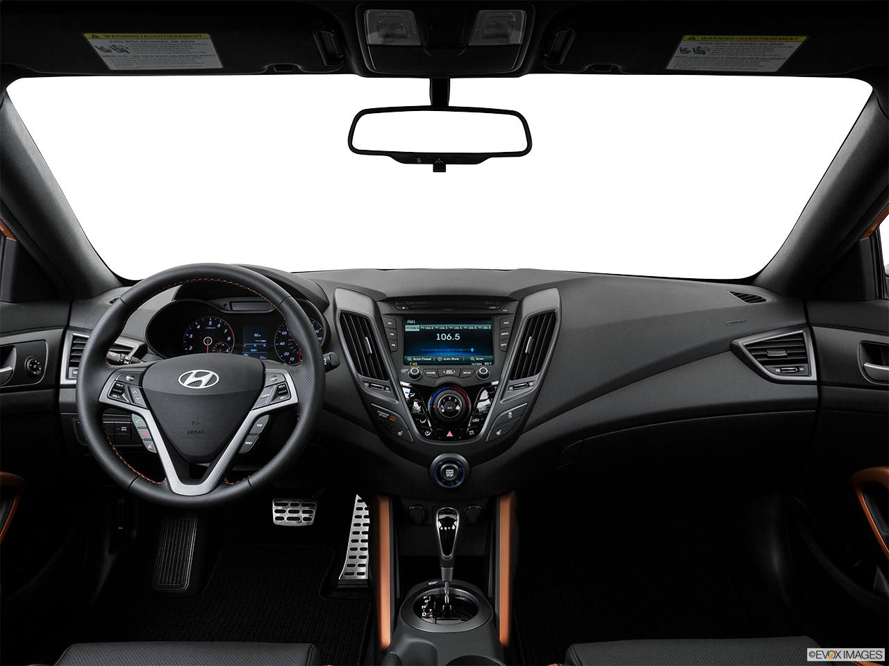 Interior View Of 2016 Hyundai Veloster in Tracy