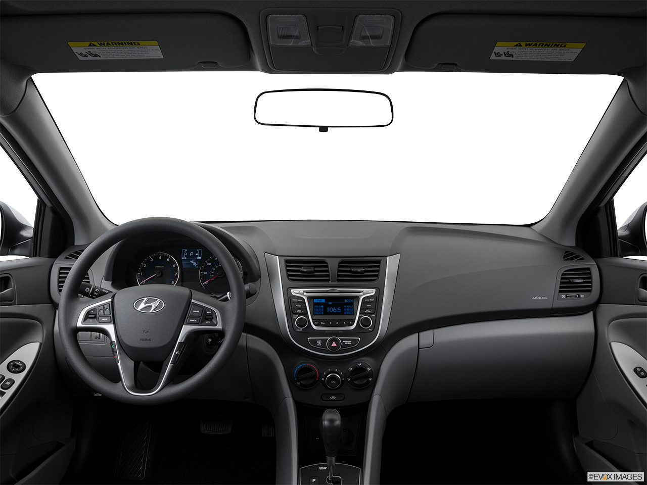 Interior View Of 2016 Hyundai Accent in Tracy