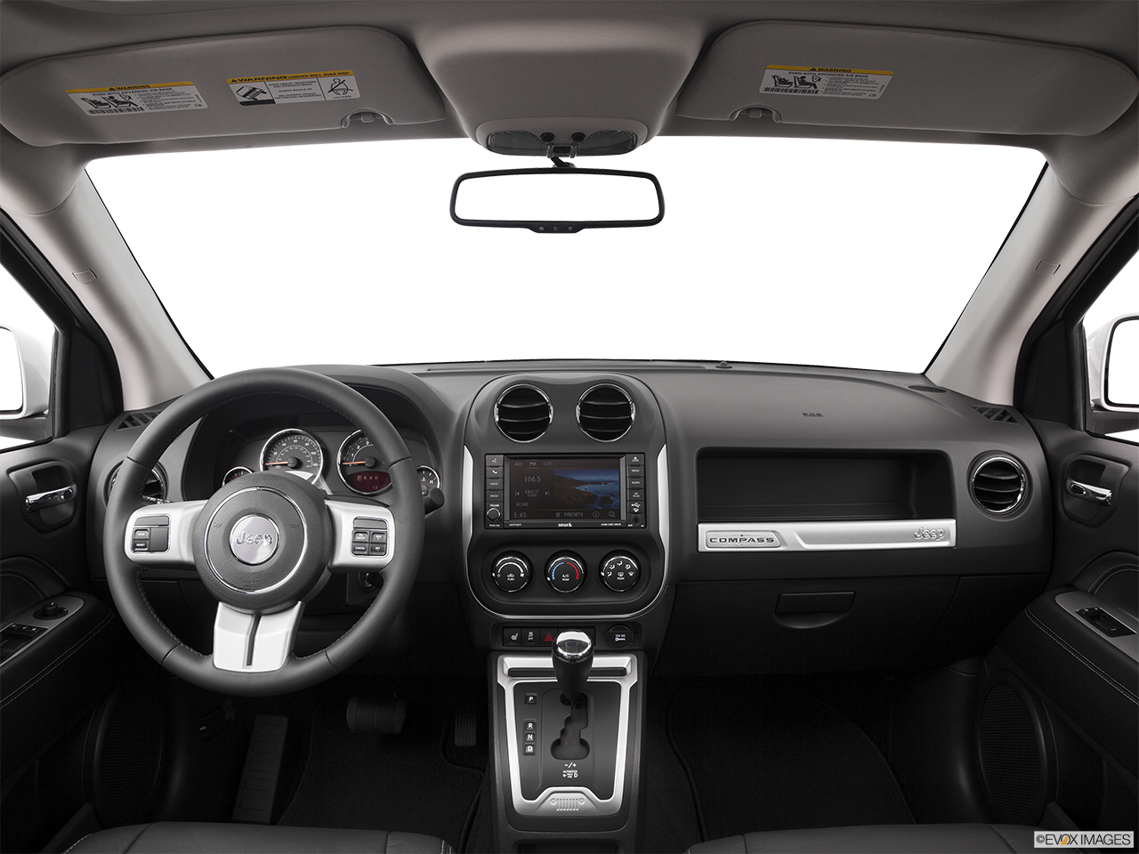 Interior View Of 2016 Jeep Compass in Tracy