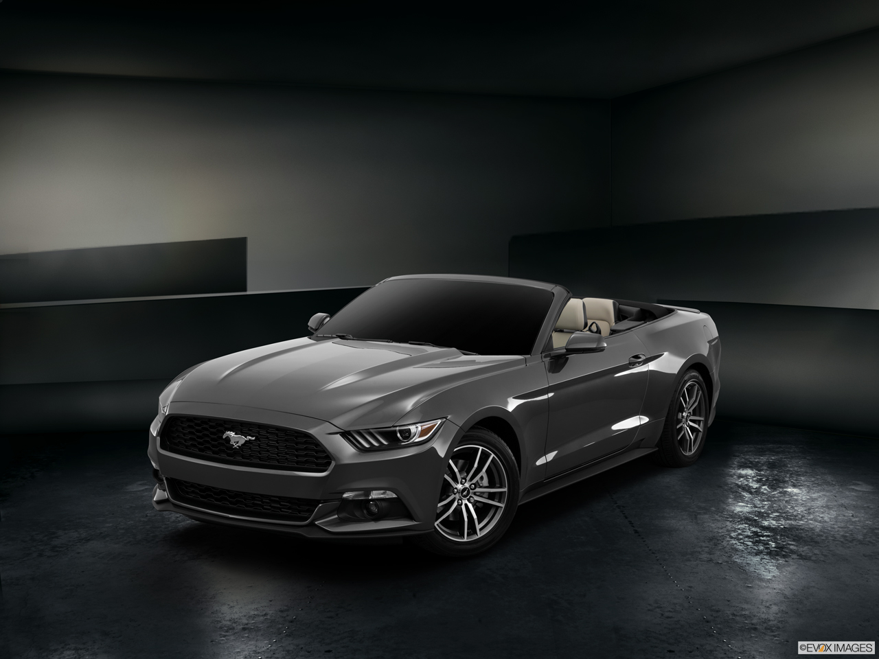 Exterior View Of 2016 Ford Mustang in Franklin