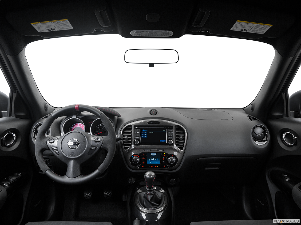 Interior View Of 2016 Nissan JUKE® in Ontario