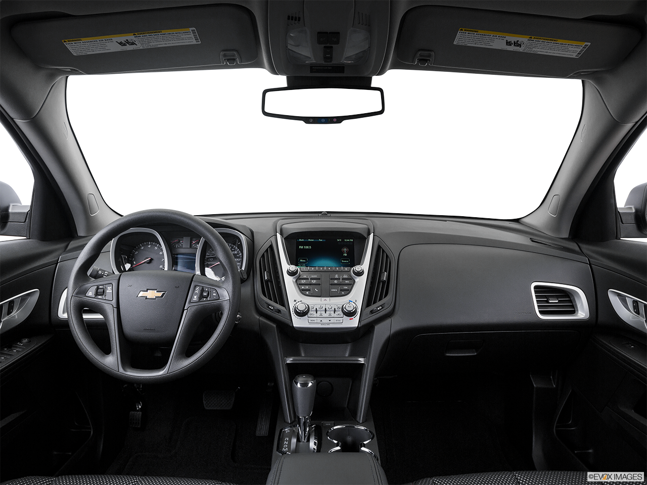 Interior View Of 2016 Chevrolet Equinox In Moreno Valley