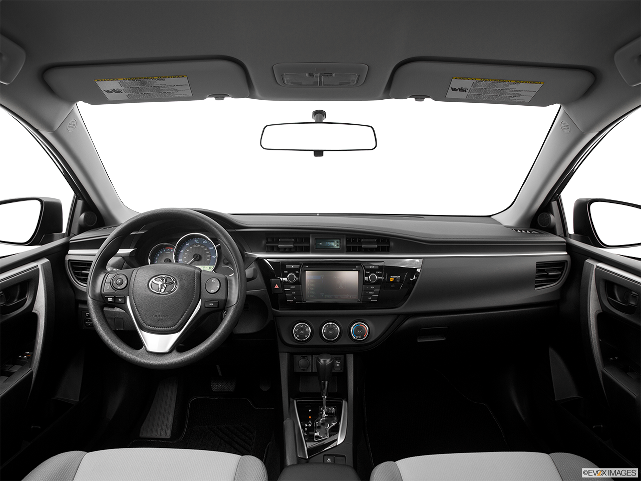 Interior View Of 2016 Toyota Corolla in Los Angeles