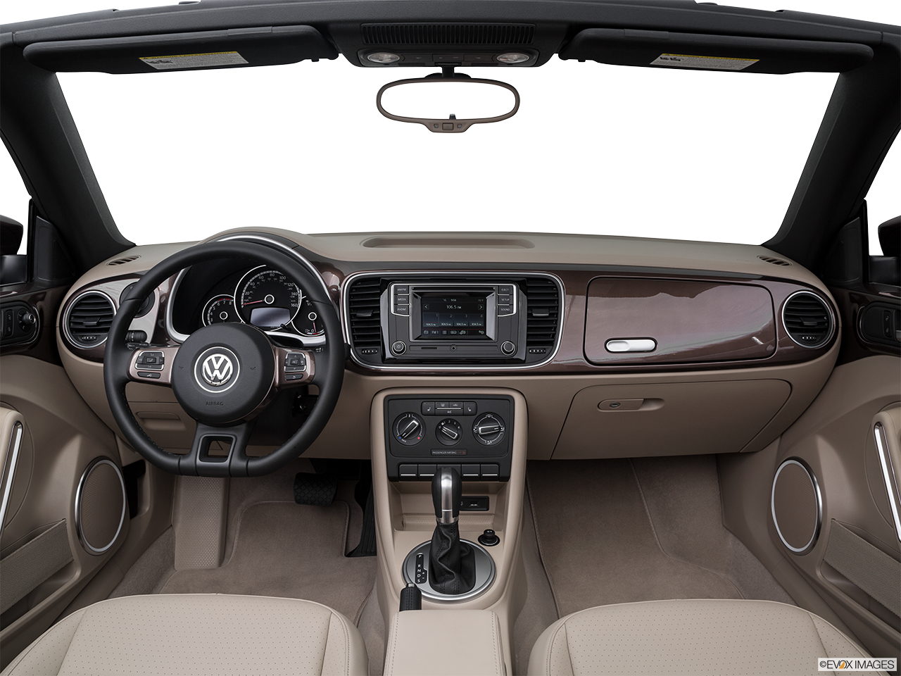 Interior View Of 2016 Volkswagen Beetlein Los Angeles