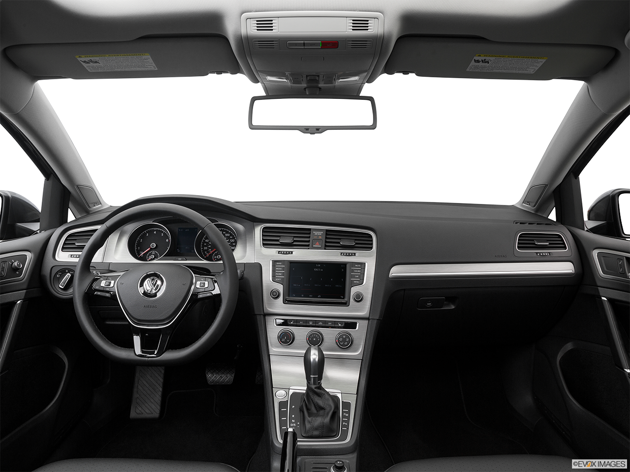 Interior View Of 2016 Volkswagen Golf in Los Angeles