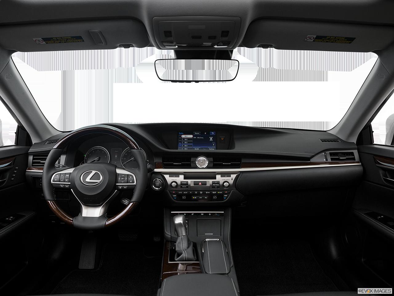 Interior View Of 2016 Lexus ES 350 Los Angeles