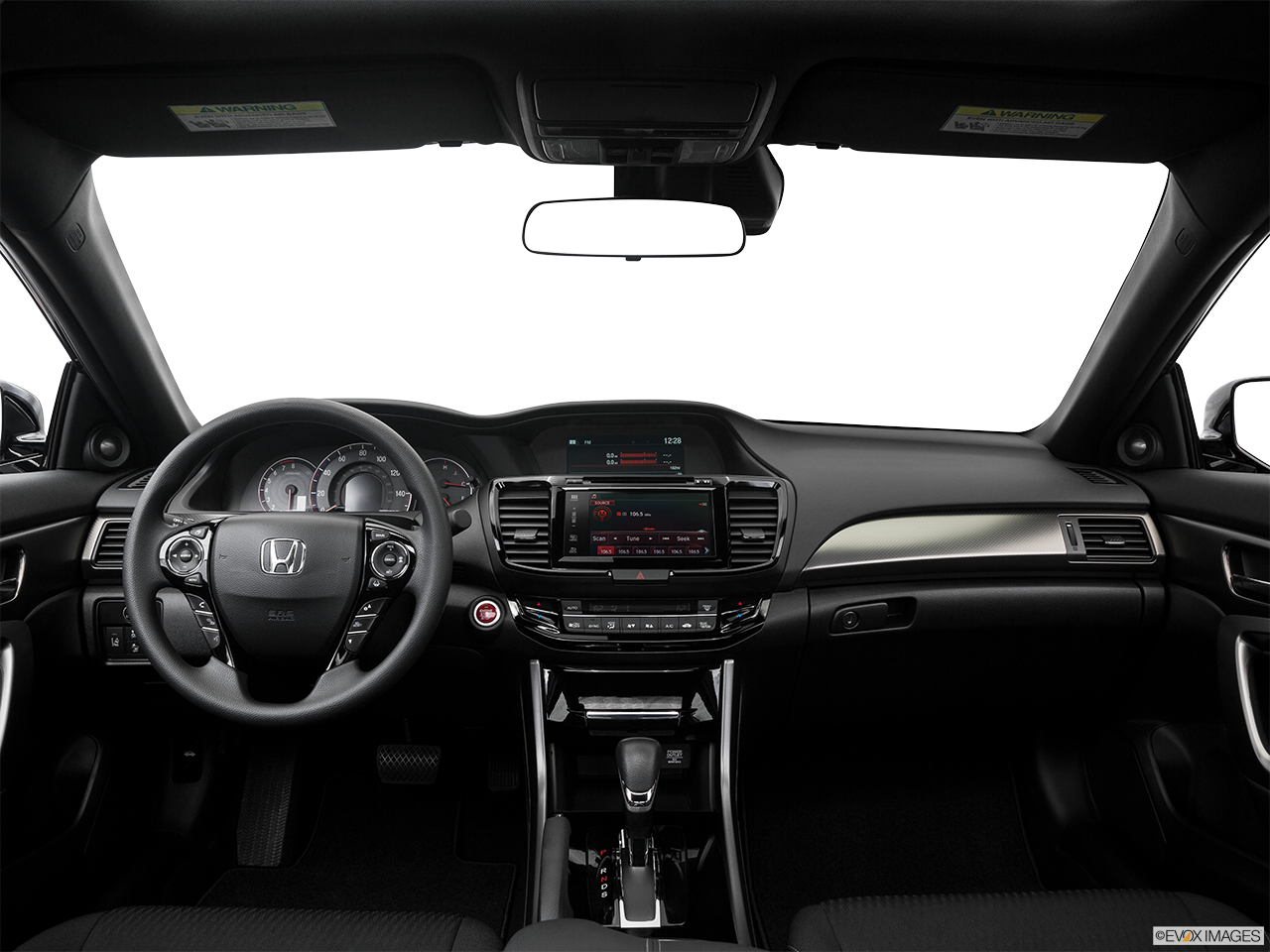 Interior View Of 2016 Honda Accord in San Bernardino