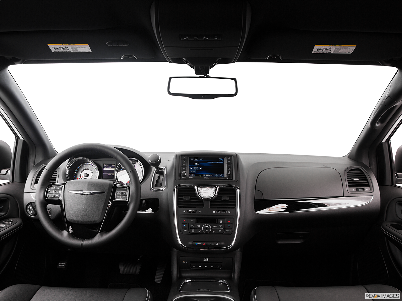 Interior View Of 2016 Chrysler Town and Country in San Bernardino