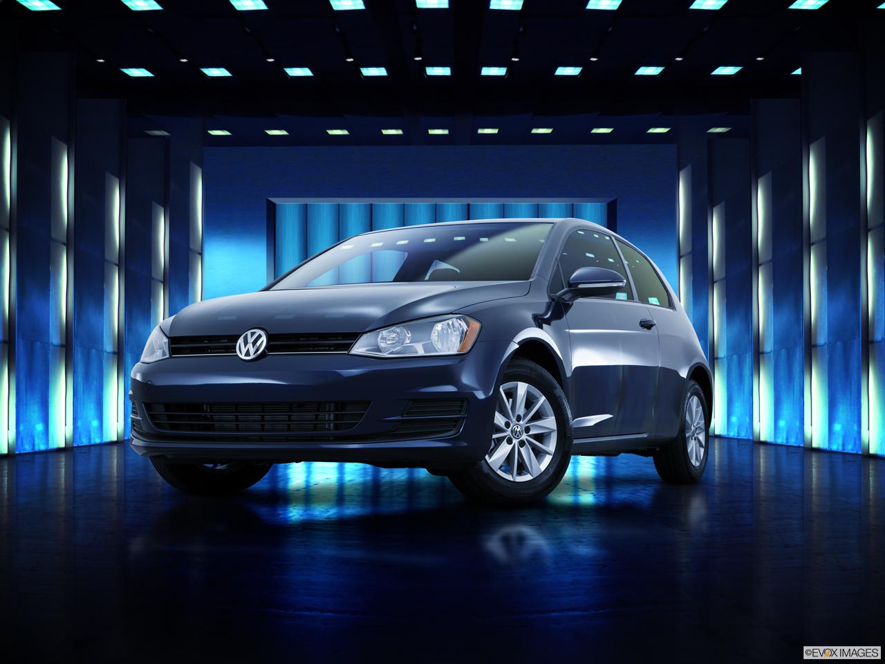 Exterior View Of 2017 Volkswagen Golf Riverside