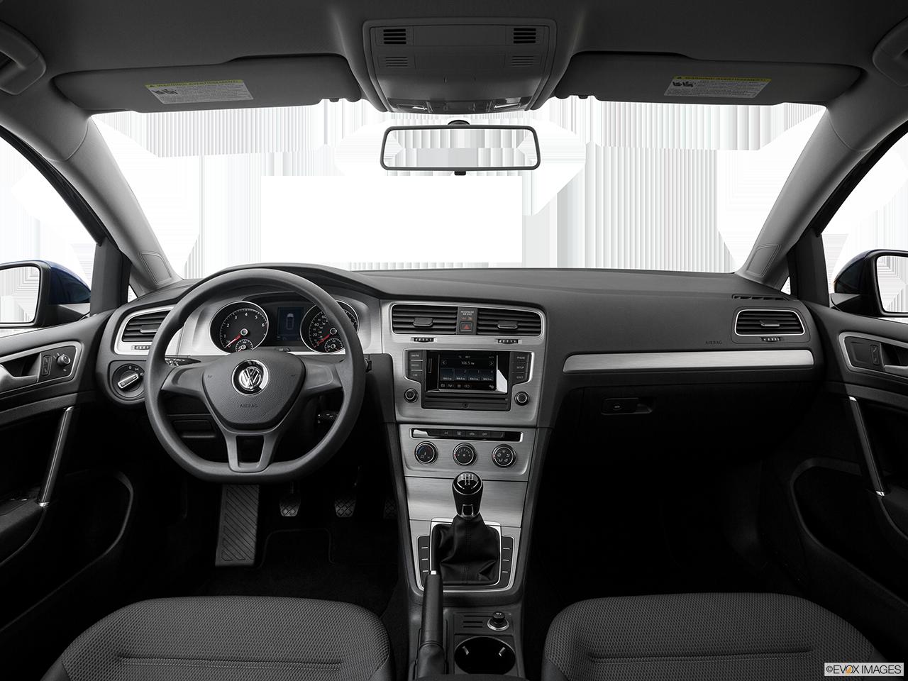 Interior View Of 2017 Volkswagen Golf Riverside