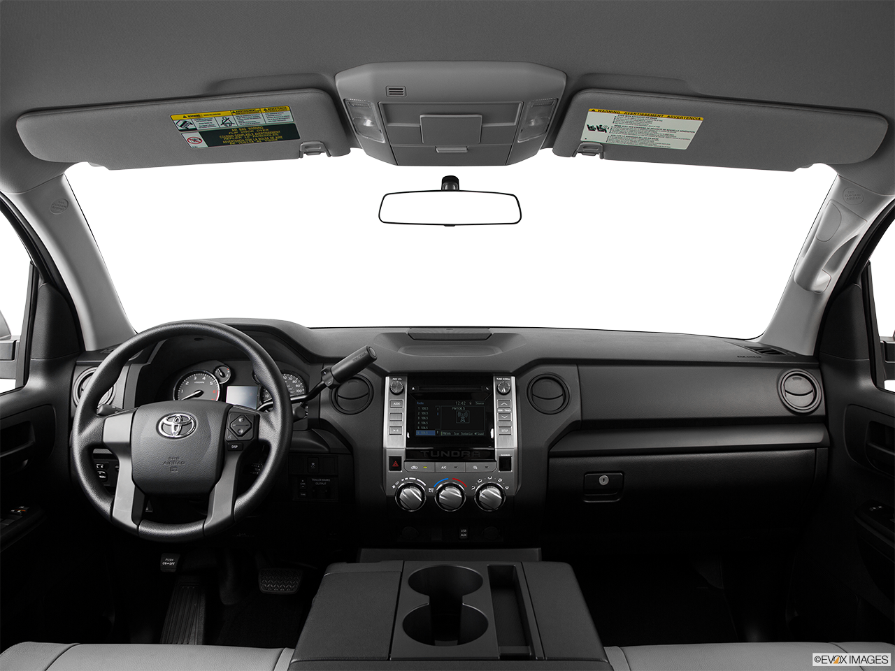 Interior View Of 2016 Toyota Tundra Riverside