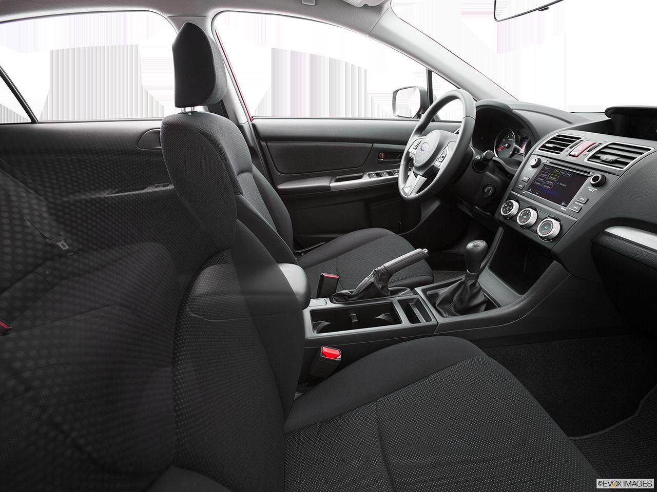 Interior View Of 2016 Subaru Crosstrek in Los Angeles