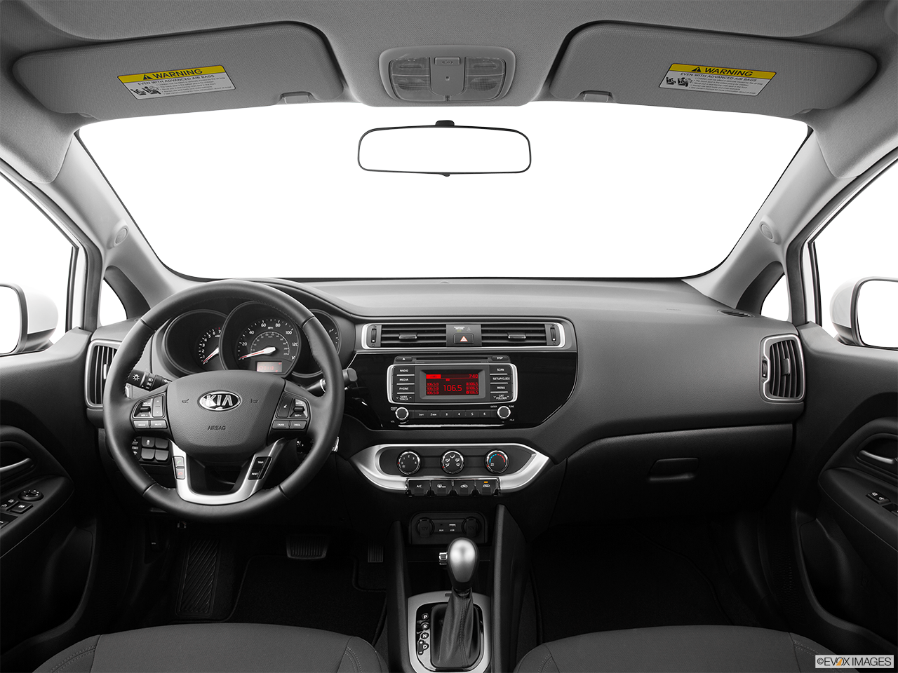 Interior View Of 2016 Kia Rio in Alhambra