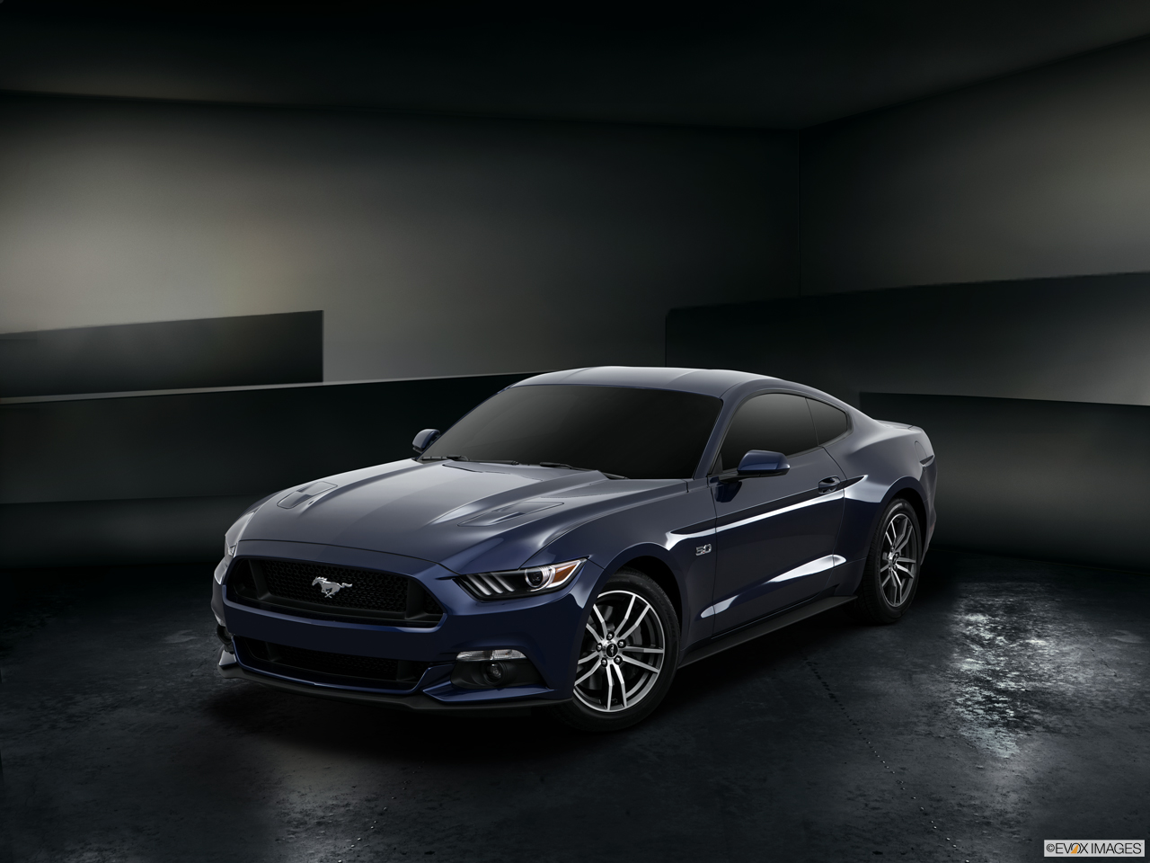 Exterior View Of 2016 Ford Mustang in Canton