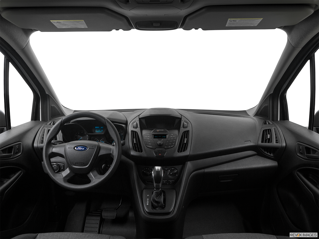 Interior View Of 2017 Ford Transit in Los Angeles