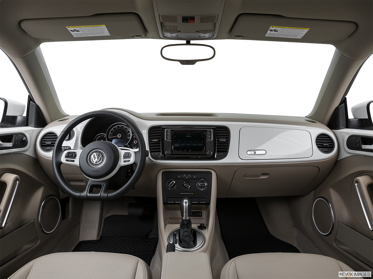 Interior View Of 2016 Volkswagen Beetle in Franklin