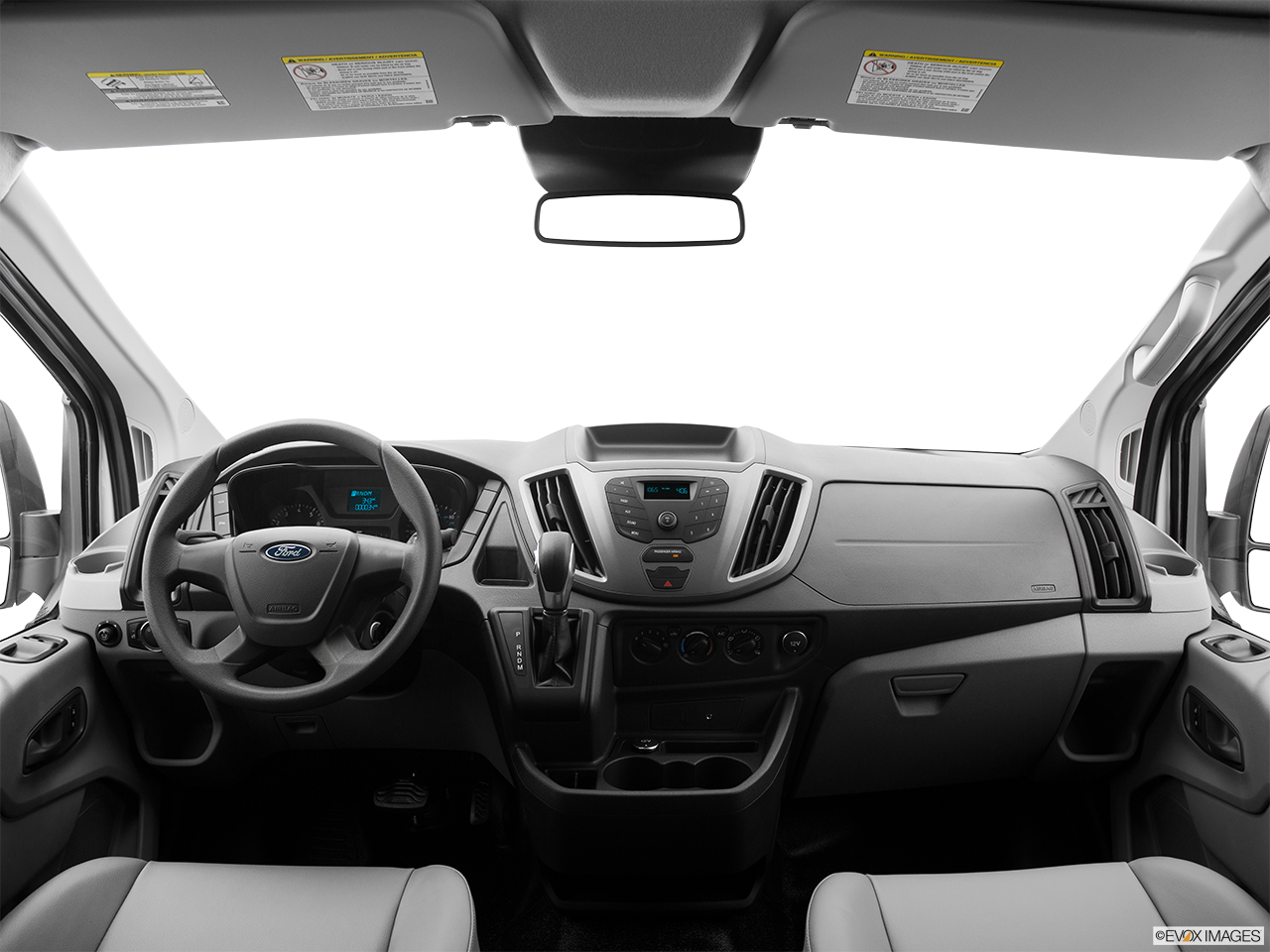 Interior View Of 2017 Ford Transit in Kilgore
