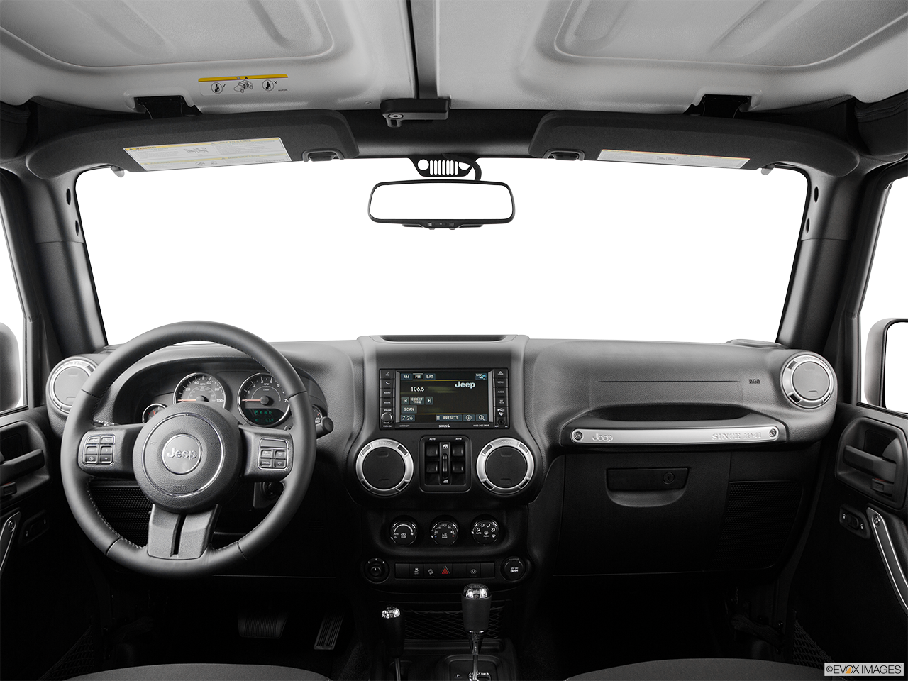 Interior View Of 2016 Jeep Wrangler Unlimited in Tracy