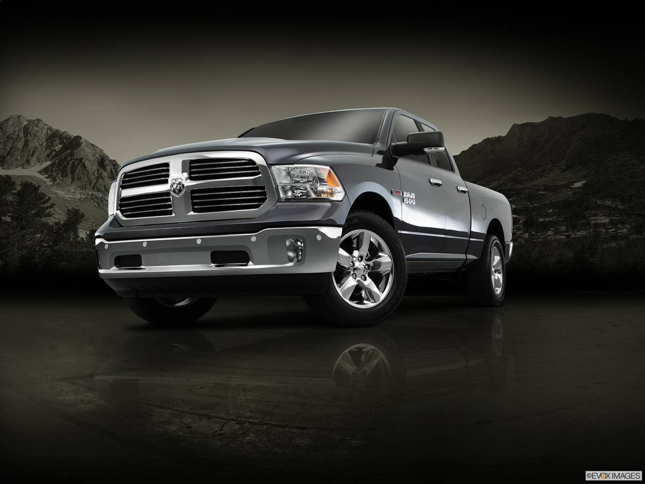 Exterior View Of 2016 RAM 1500 in Huntington Beach
