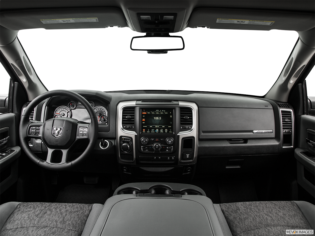 Interior View Of 2016 RAM 1500 in Huntington Beach
