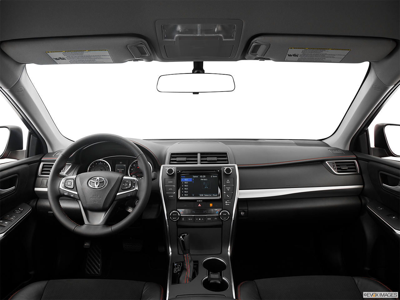 Interior View Of 2017 Toyota Camry near San Diego