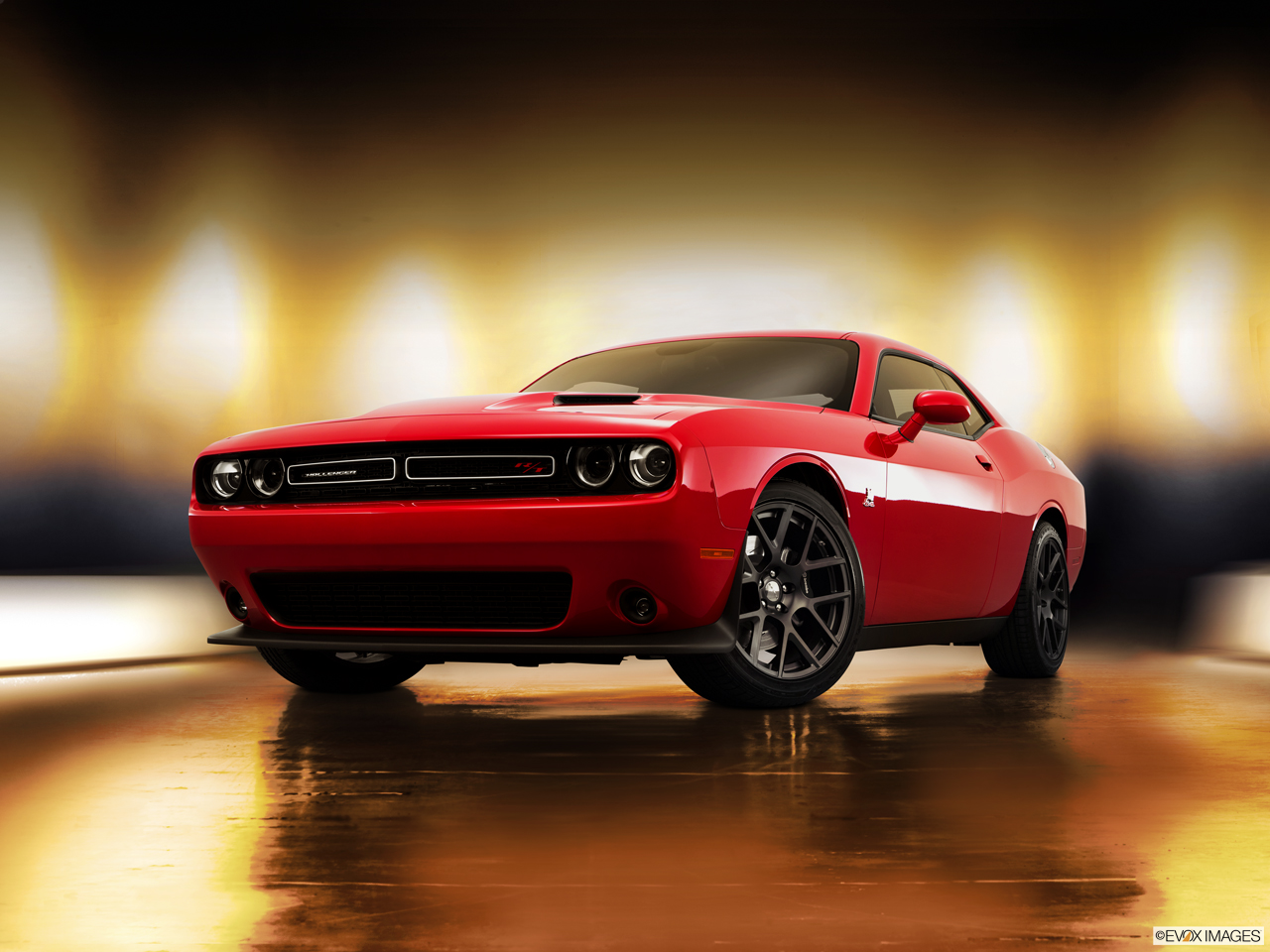 Exterior View Of 2016 Dodge Challenger in Tracy
