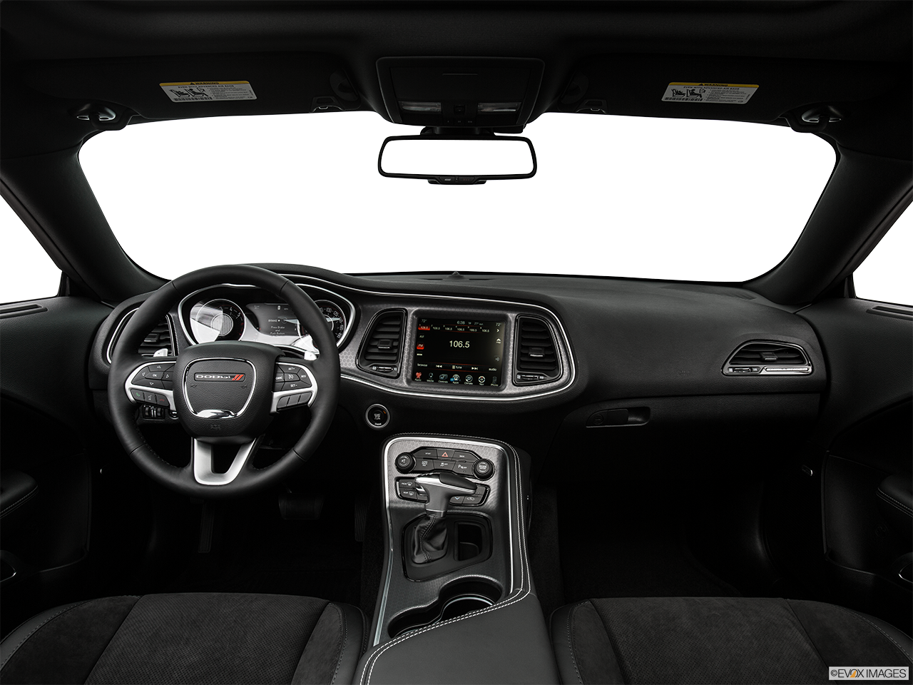 Interior View Of 2016 Dodge Challenger in Tracy