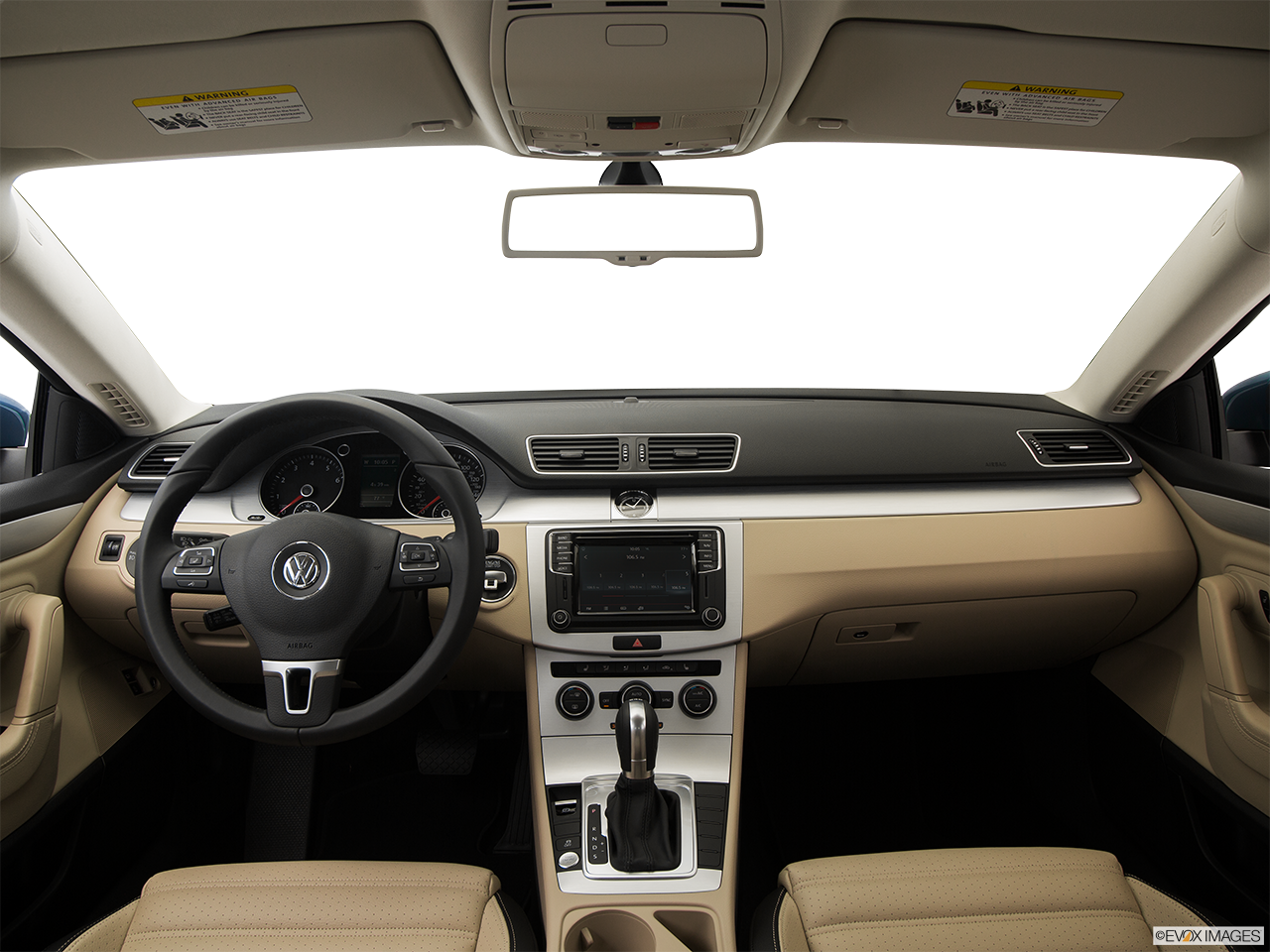 Interior View Of 2016 Volkswagen CC in San Diego
