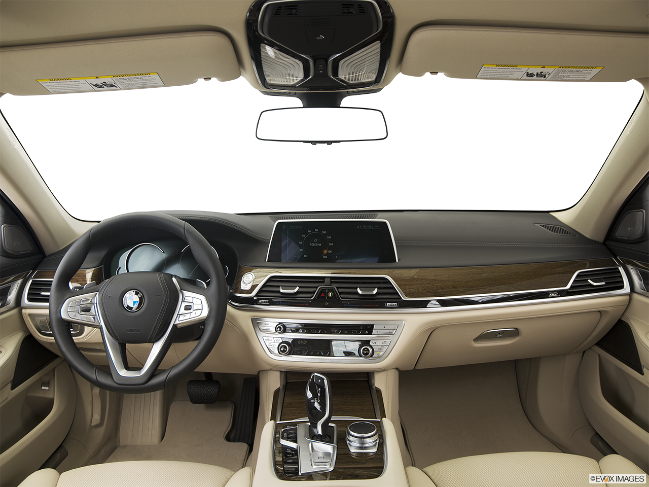 Interior View Of 2016 BMW 740i In Hampton Roads