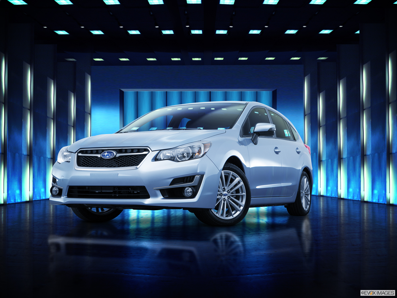 Exterior View Of 2016 Subaru Impreza in Los Angeles