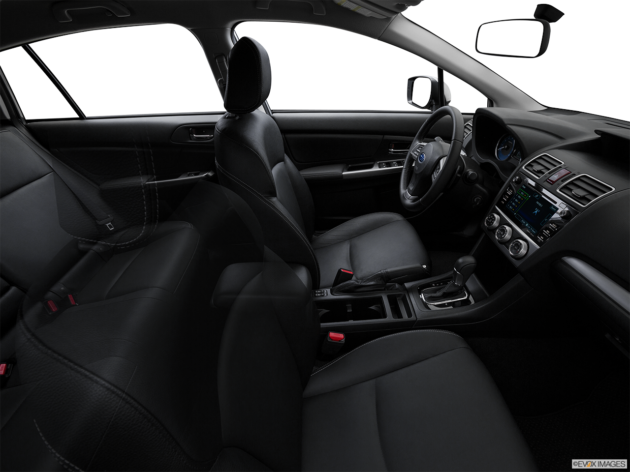 Interior View Of 2016 Subaru Impreza in Los Angeles