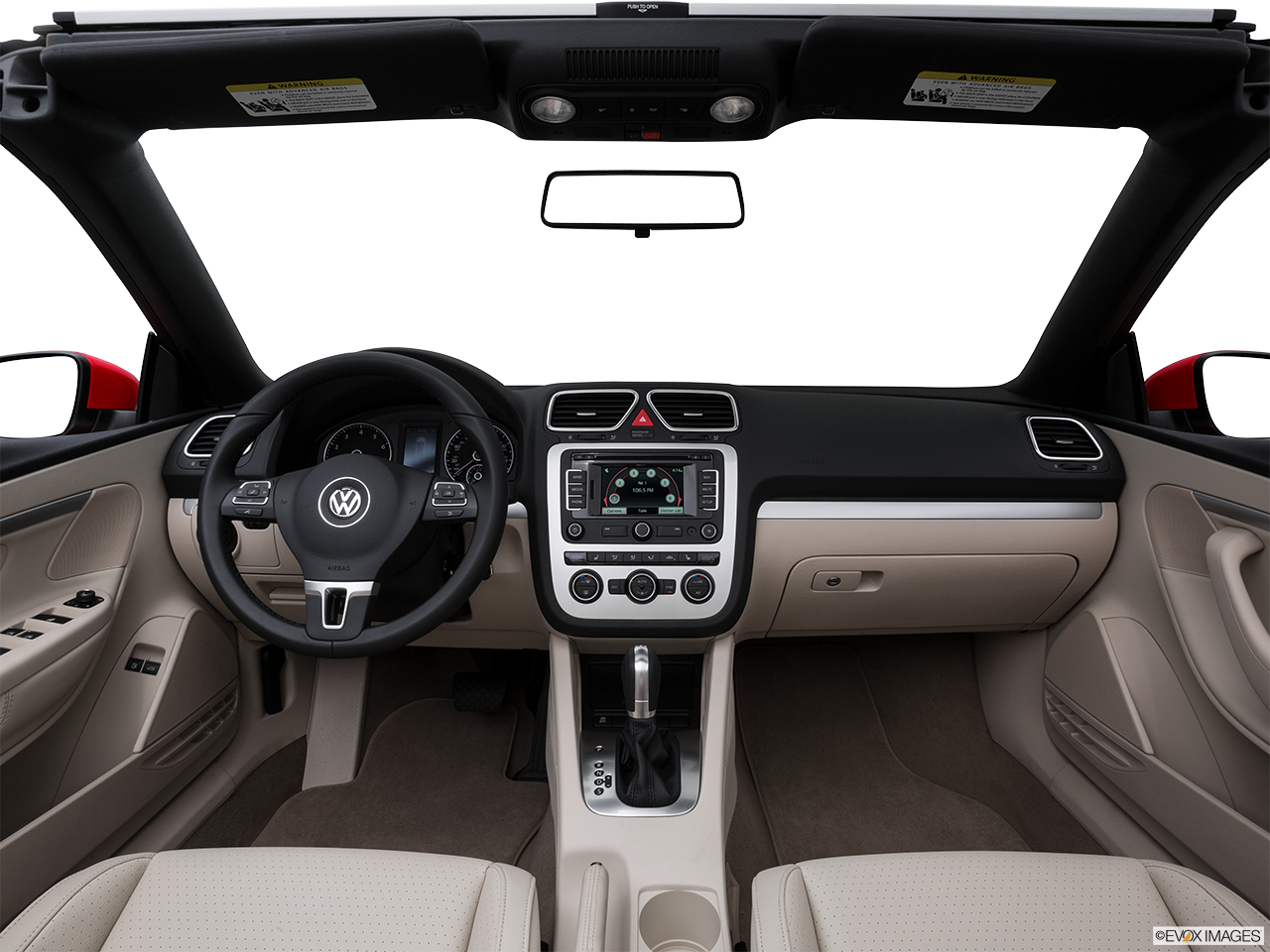 Interior View Of 2016 Volkswagen Eos Riverside