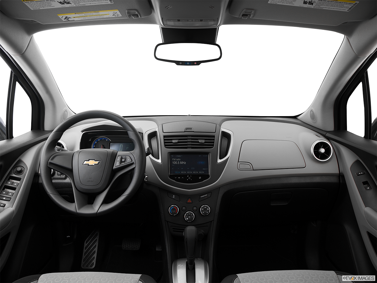 Interior View Of 2016 Chevrolet Trax In Houston
