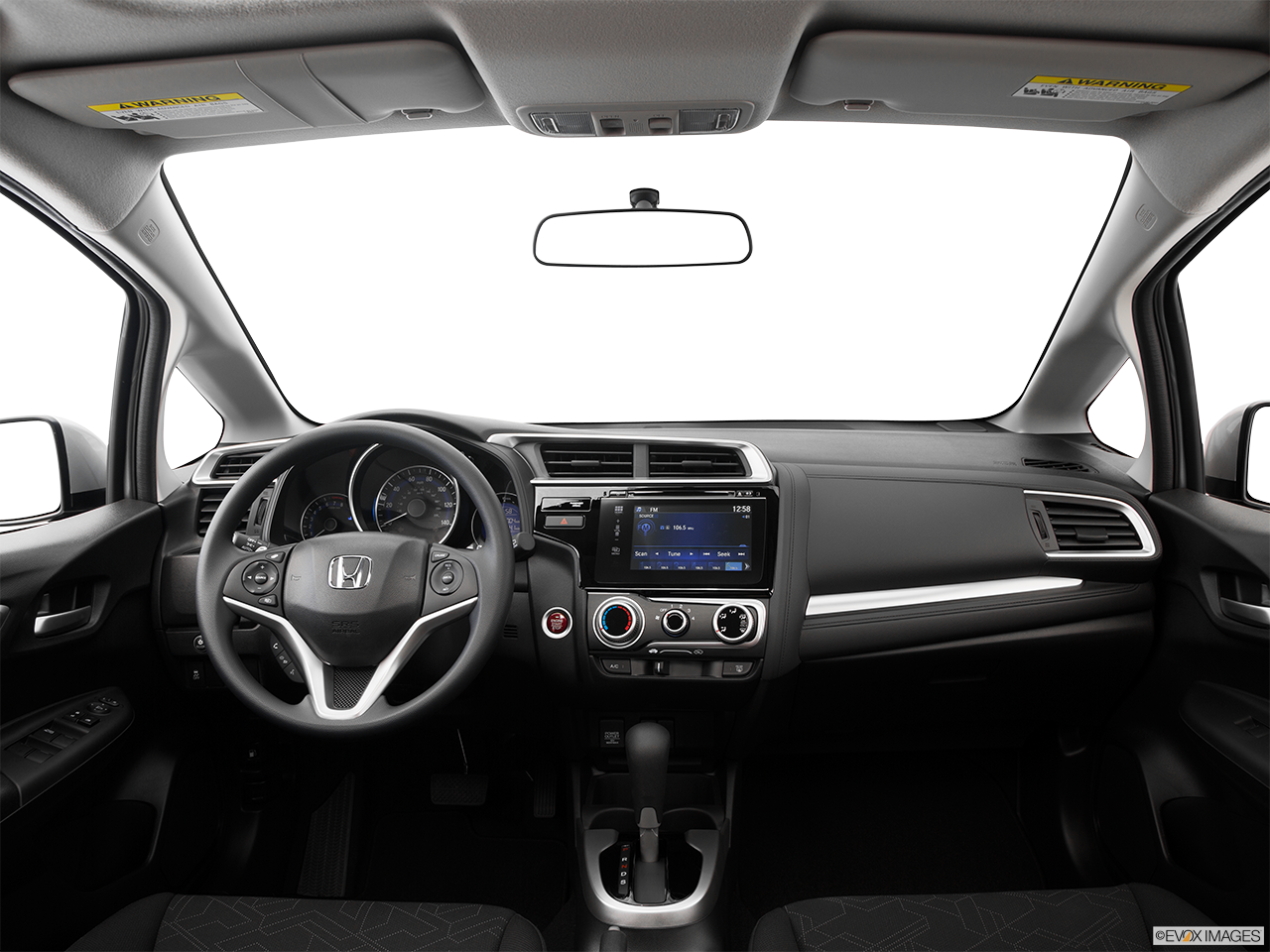 Interior View Of 2016 Honda Fit in San Bernardino