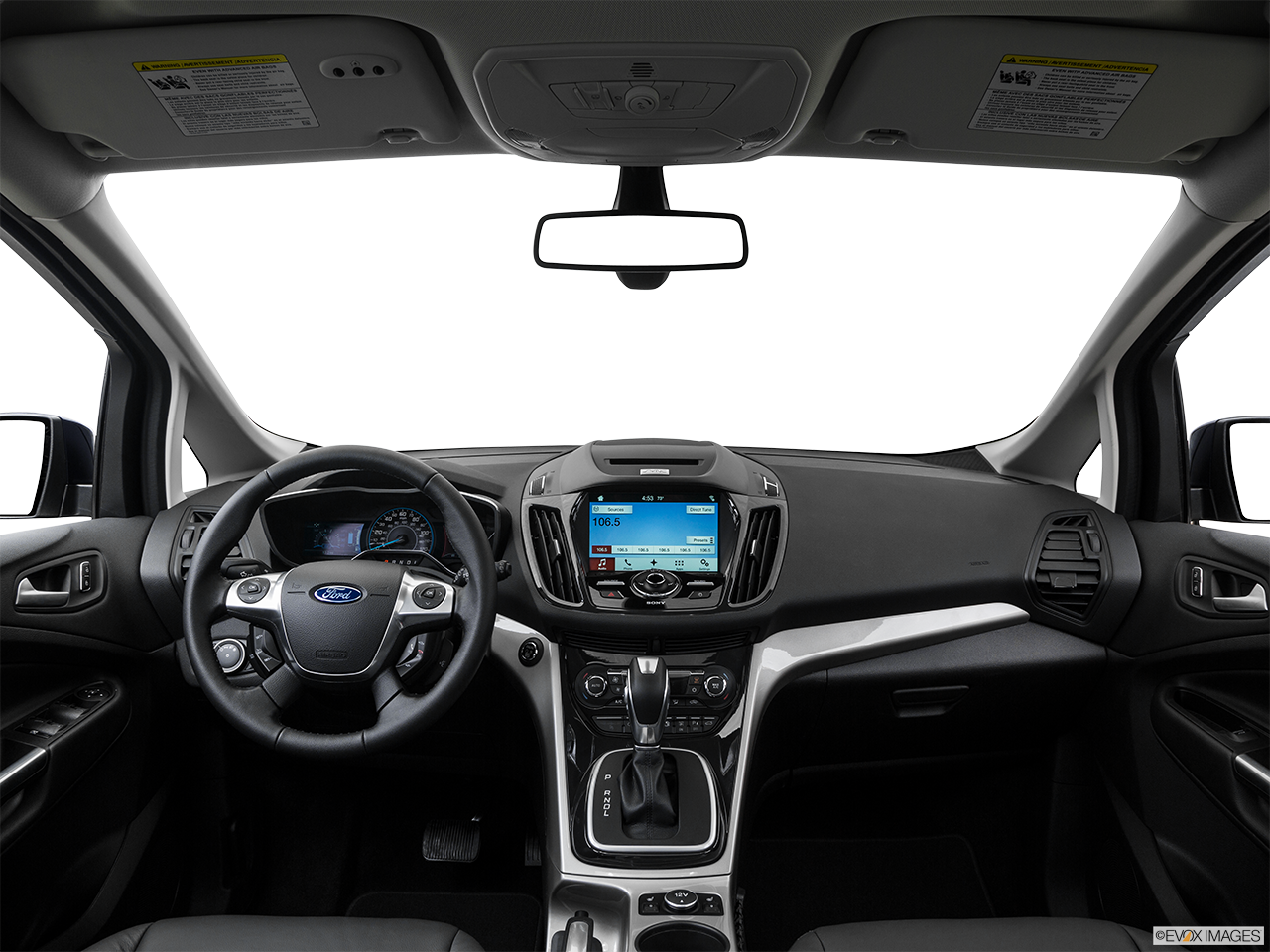 Interior View Of 2016 Ford C-Max Energi in Huntington Beach