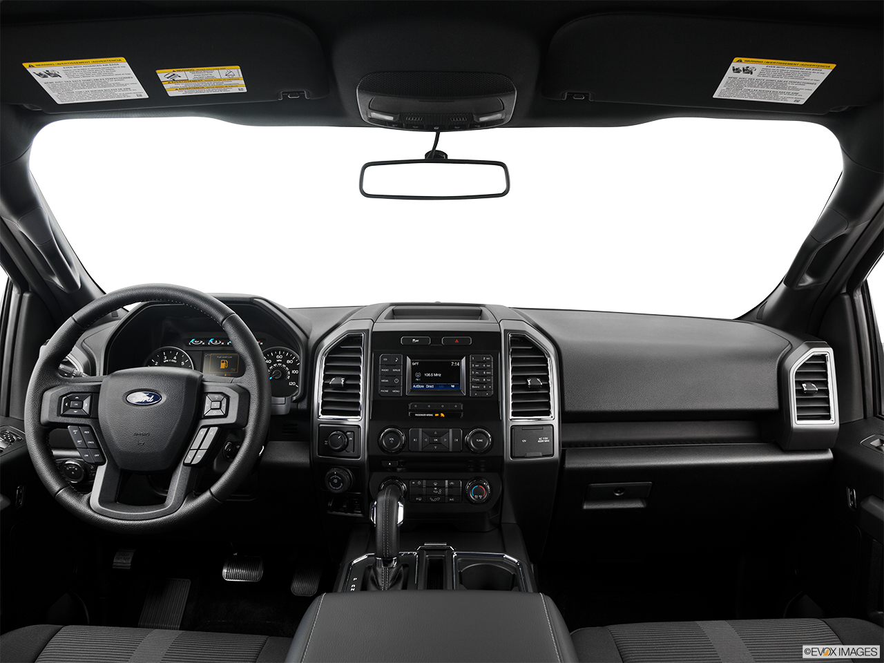 Interior View Of 2016 Ford F-150 in San Bernardino County