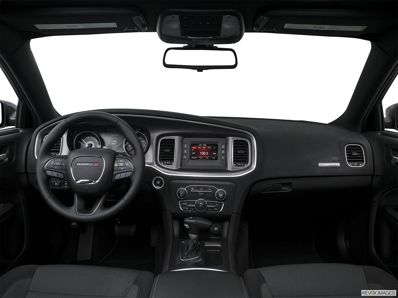 Interior View Of 2016 Dodge Charger in Tracy
