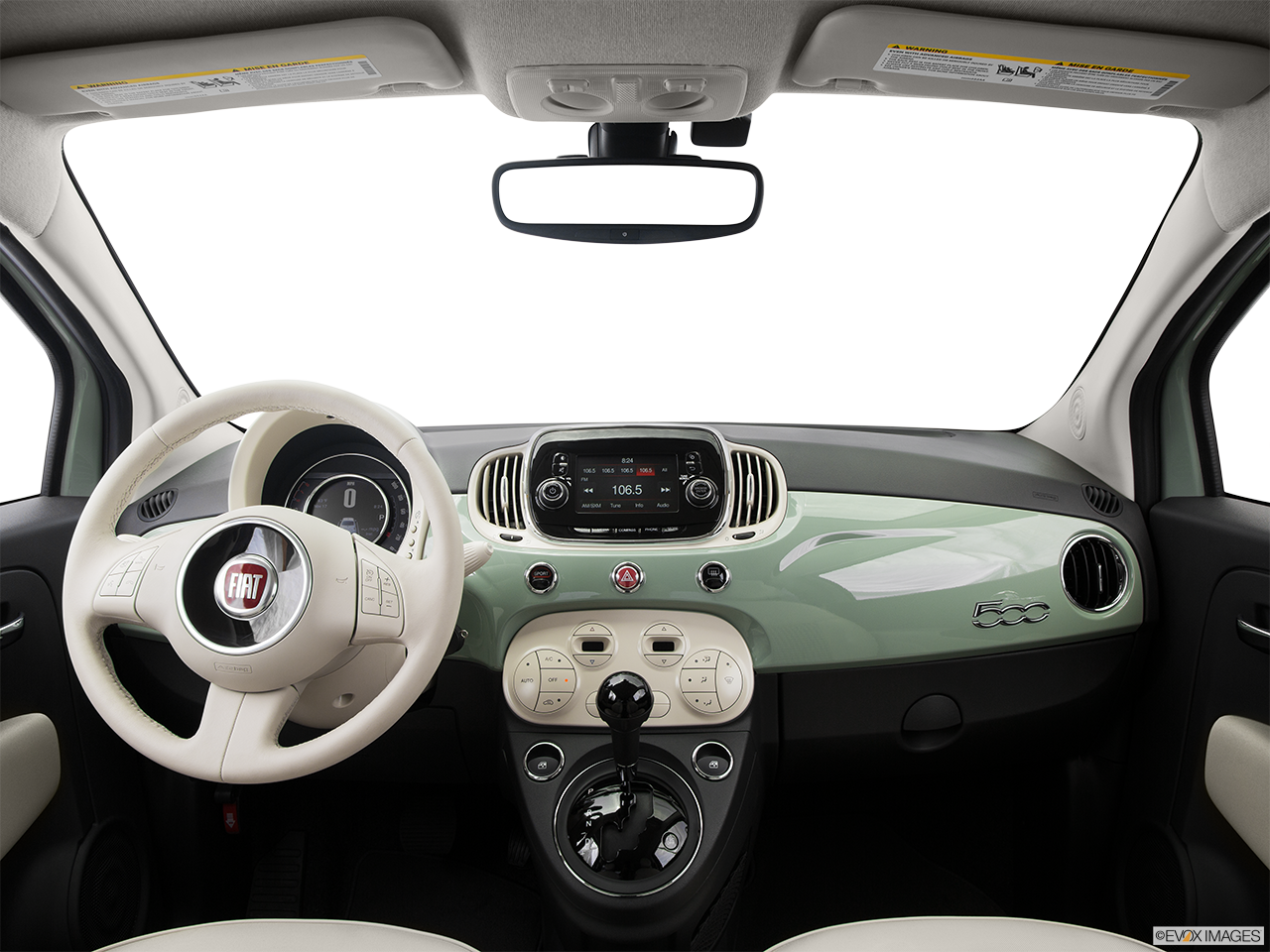 Interior View Of 2016 Fiat 500 in West Palm Beach