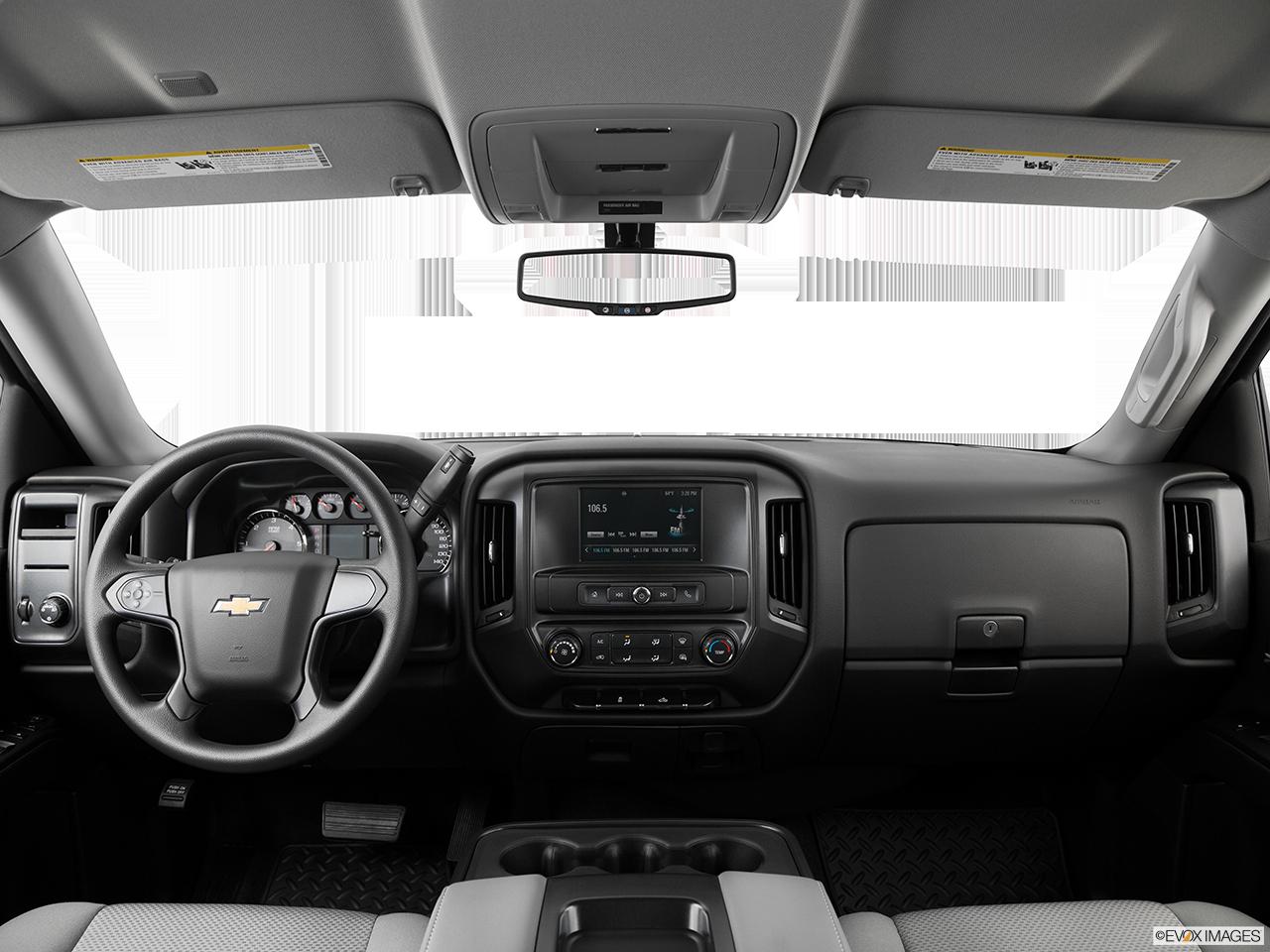 Marvelous Interior View Of 2016 Chevrolet Silverado 1500 In Houston