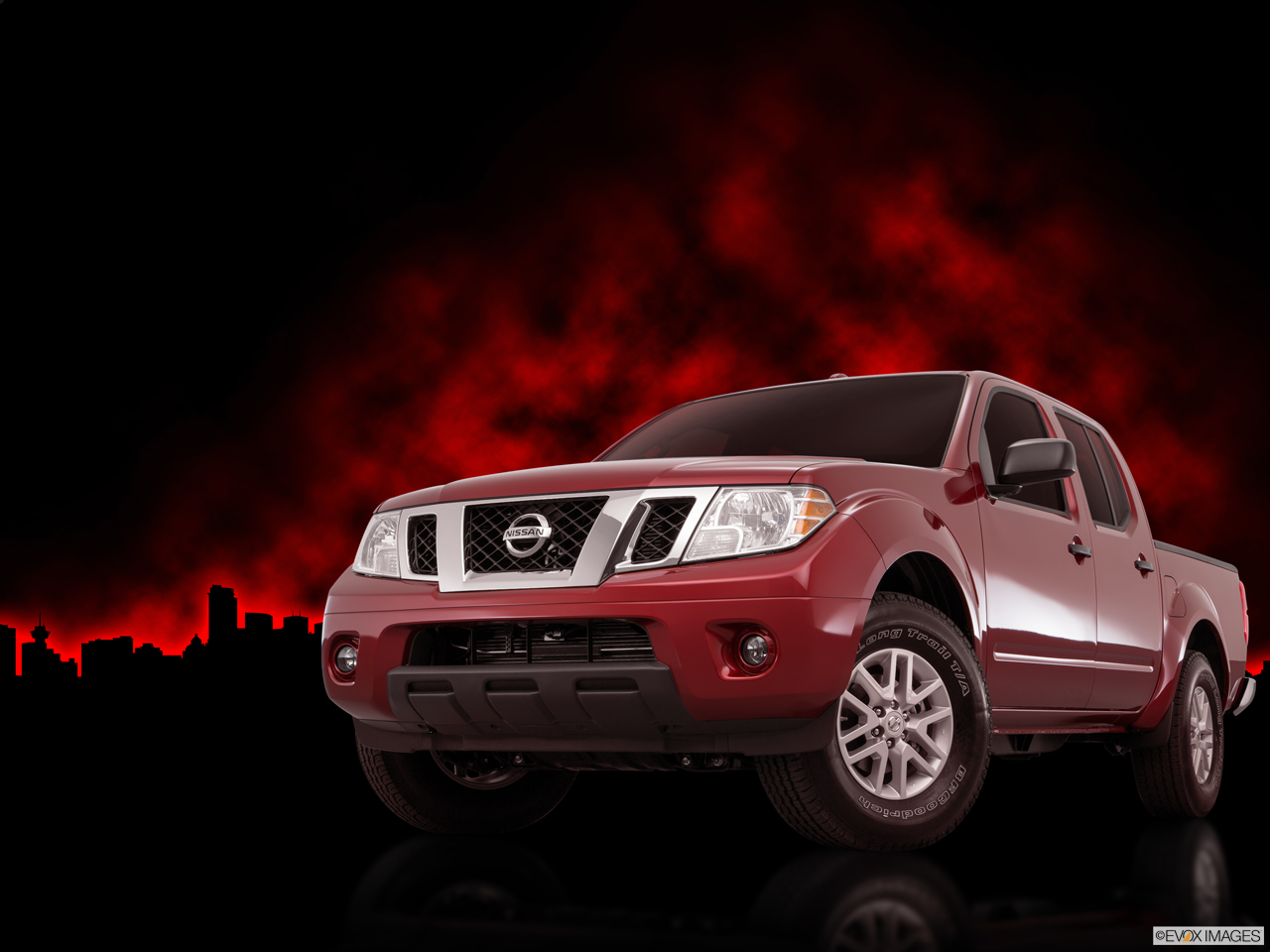 Exterior View Of 2016 Nissan Frontier® in Ontario