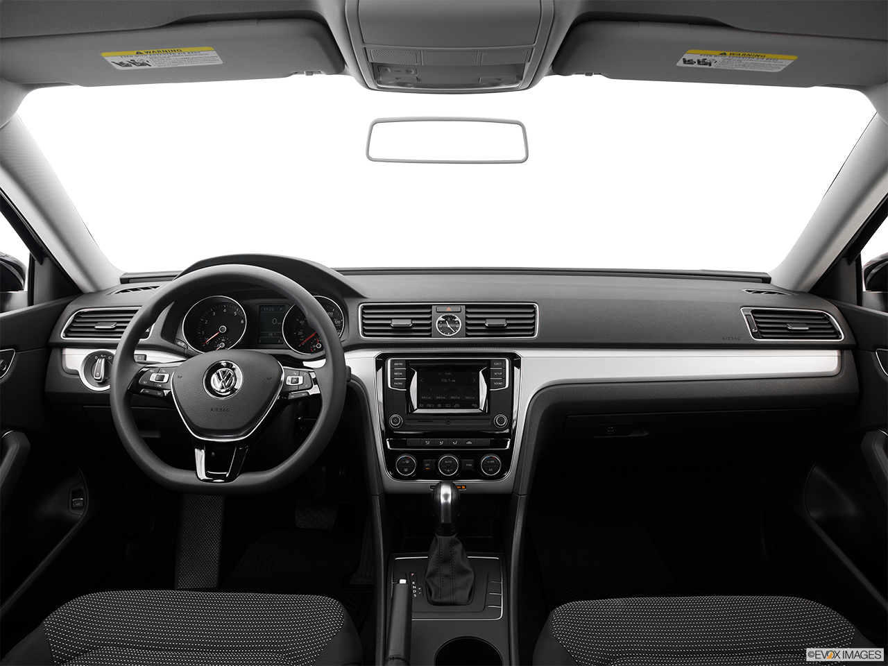 Interior View Of 2016 Volkswagen Passat in San Diego