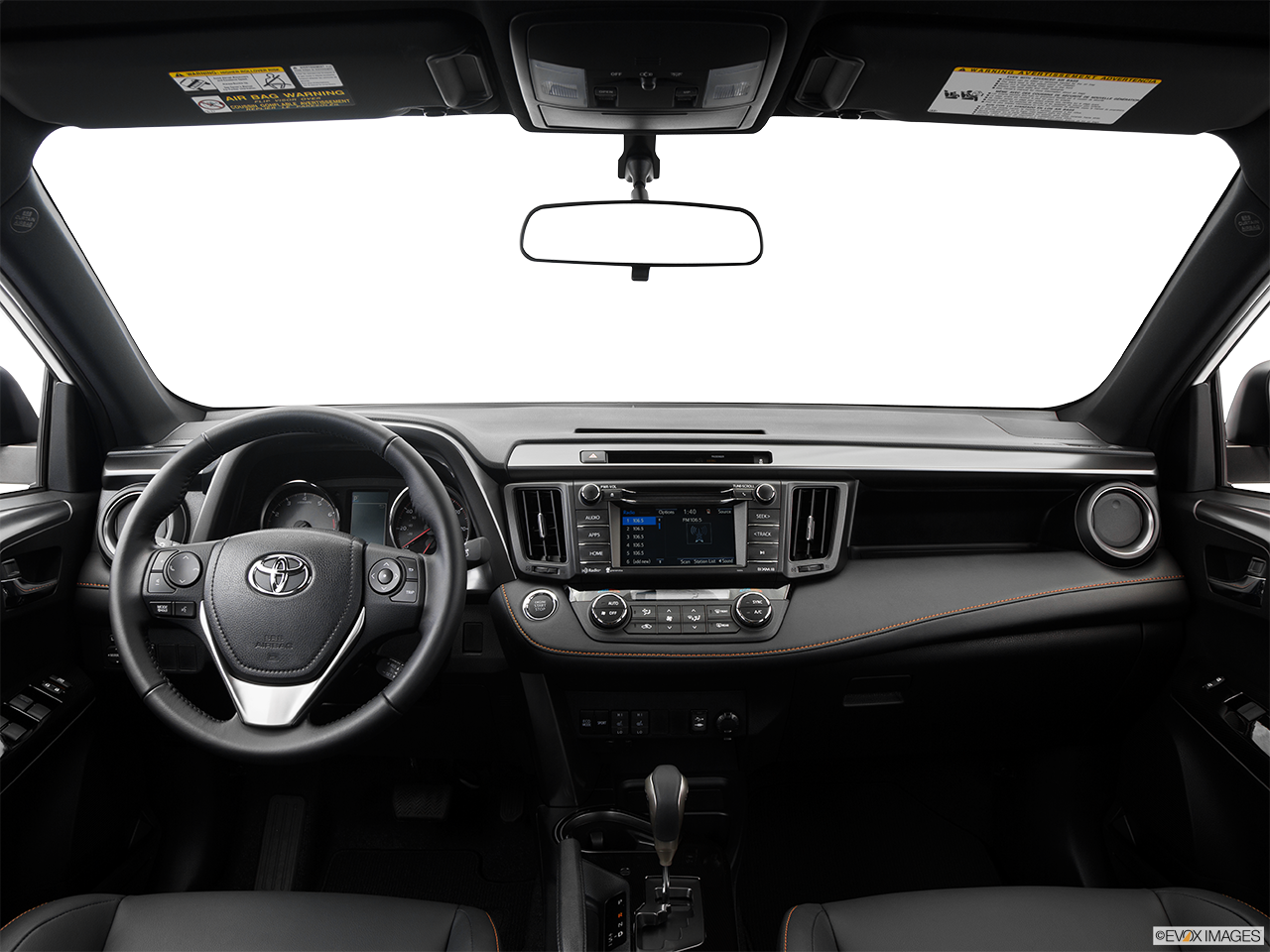 Interior View Of 2016 Toyota RAV4 Riverside