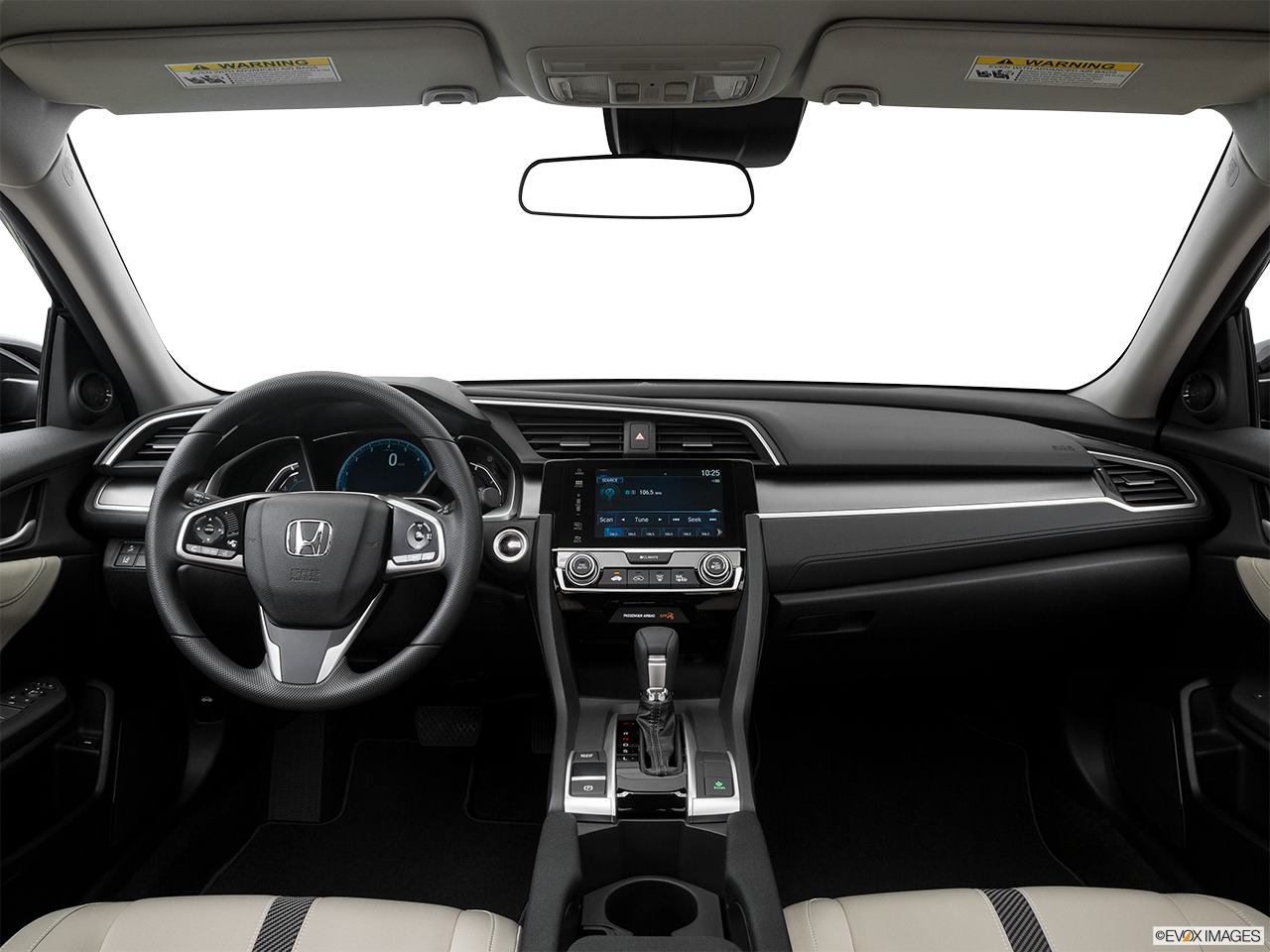 Interior View Of 2016 Honda Civic in San Bernardino