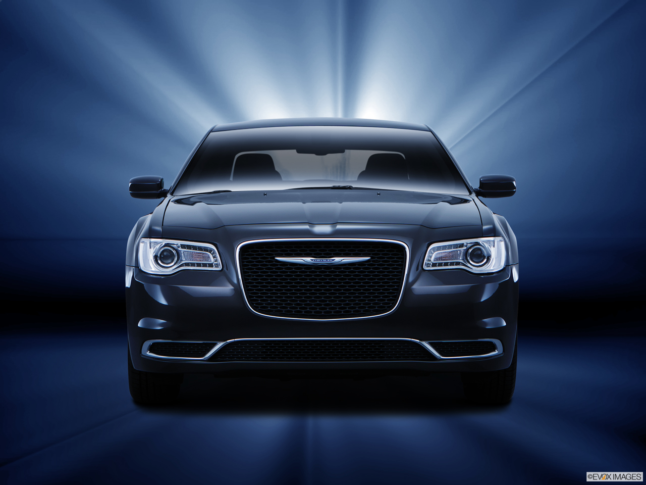 Exterior View Of 2016 Chrysler 300 in Tracy