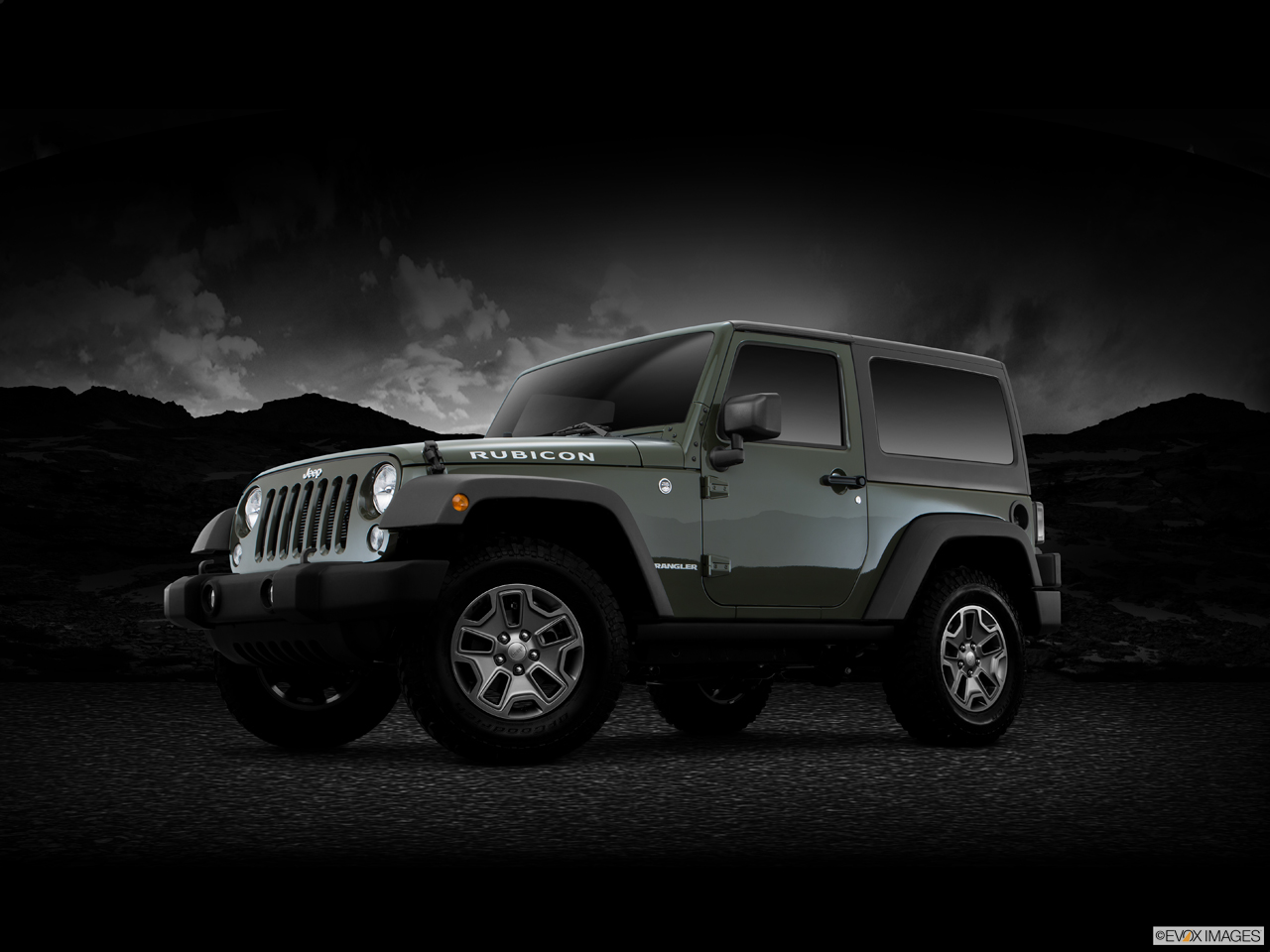 Exterior View Of 2016 Jeep Wrangler in La Mesa