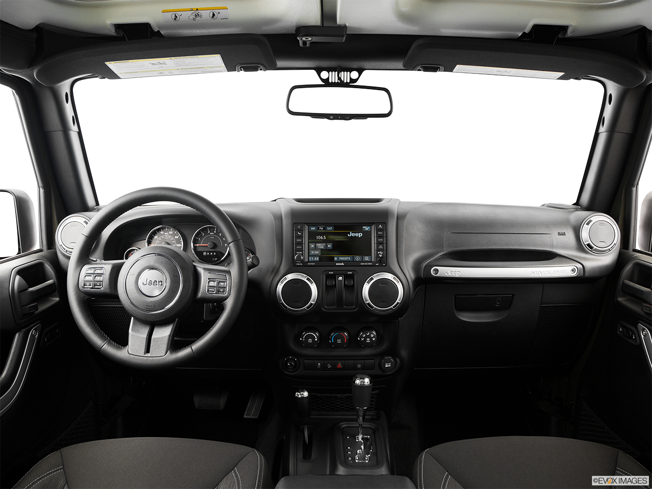 Interior View Of 2016 Jeep Wrangler in San Bernardino