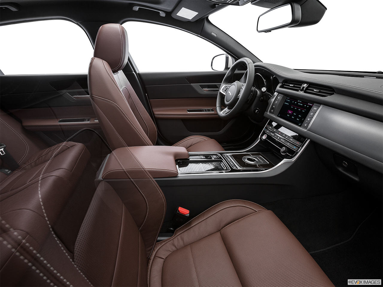 Interior View Of 2016 Jaguar XF in Los Angeles