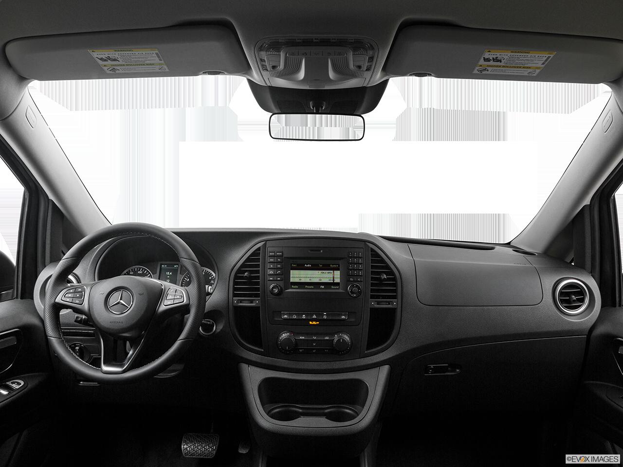 Interior View Of 2016 Mercedes-Benz METRIS Passenger Van in El Cajon
